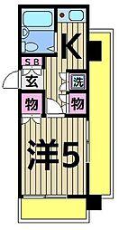 シャングリラII[5階]の間取り