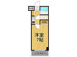 エトール7[3階]の間取り