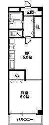 島ビル[3階]の間取り