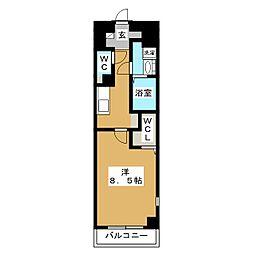 プランドールM[2階]の間取り