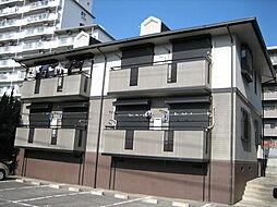兵庫県神戸市東灘区森北町1丁目の賃貸アパートの外観