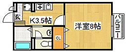 ニードルス[1階]の間取り