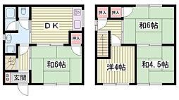 中八木駅 4.3万円