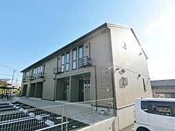 静岡県富士市天間の賃貸アパートの外観
