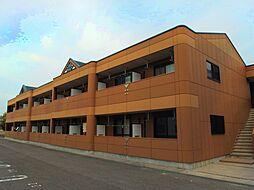 愛知県岡崎市福岡町字毘沙門の賃貸アパートの外観