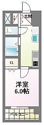 プレミアムステージ新大阪駅前II[8階]の間取り