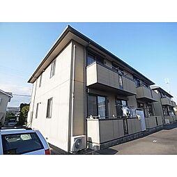 静岡県静岡市清水区村松原の賃貸アパートの外観