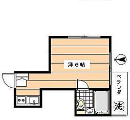 ファミール久米川[2階]の間取り