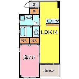 Sakura Garden東刈谷 A館[405号室]の間取り