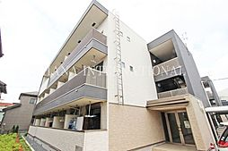 埼玉県草加市中央1丁目の賃貸マンションの外観