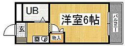 プレアール中垣内[303号室]の間取り
