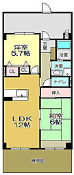 志井ガーデンヒルズ[103号室]の間取り