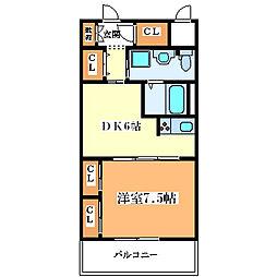 フェアステージ塚本[10階]の間取り
