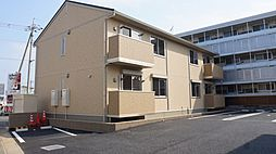 埼玉県深谷市上柴町東7丁目の賃貸アパートの外観