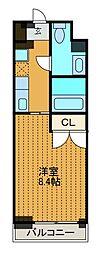 ドゥーエ新百合ヶ丘[3階]の間取り