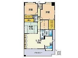 オーパスワン[2階]の間取り