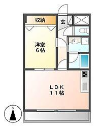 KATOHマンション[3階]の間取り