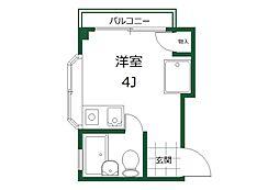 エスポワール4階Fの間取り画像
