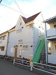 東京都江戸川区江戸川5丁目の賃貸アパートの外観