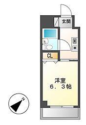 第30プロスパー泉[8階]の間取り