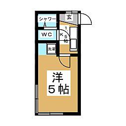 コーポイワタニ[2階]の間取り