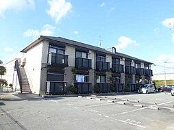 兵庫県加東市上中の賃貸アパートの外観
