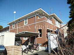 東京都立川市幸町4丁目の賃貸アパートの外観