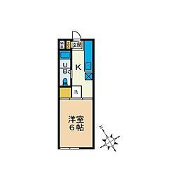 マントバ[2階]の間取り