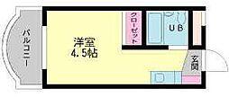 フェリス苅田[108号室]の間取り