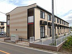 茨城県つくば市上横場の賃貸アパートの外観