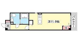 GAZELLE COVE芦屋西[2階]の間取り