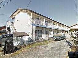 滋賀県甲賀市土山町大野の賃貸アパートの外観