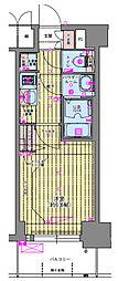 Osaka Metro千日前線 玉川駅 徒歩3分の賃貸マンション 5階1Kの間取り