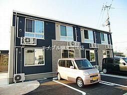 岡山県赤磐市河本丁目なしの賃貸アパートの外観