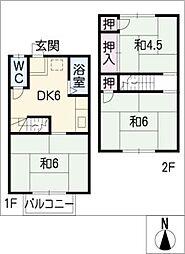 [タウンハウス] 愛知県岡崎市堂前町1丁目 の賃貸【/】の間取り