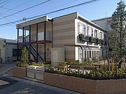 埼玉県八潮市大曽根の賃貸アパートの外観
