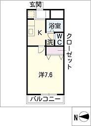 PhoenixAvenue21[2階]の間取り
