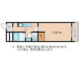 静岡県静岡市葵区伝馬町の賃貸マンションの間取り