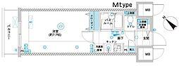フェニックス横濱関内BAY GAIA[9階]の間取り