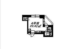 ビーウォール神保町[5階]の間取り