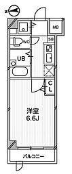 ガーラプレイス八幡山弐番館[0103号室]の間取り