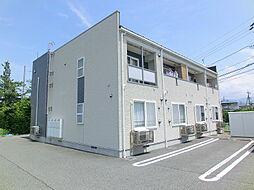 長野県中野市大字立ケ花の賃貸アパートの外観