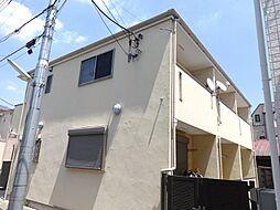 東京都北区志茂5の賃貸アパートの外観