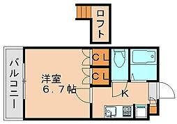 ホープ松島[2階]の間取り
