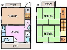 [テラスハウス] 三重県亀山市野村1丁目 の賃貸【/】の間取り
