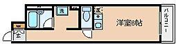 兵庫県神戸市兵庫区新開地5丁目の賃貸マンションの間取り