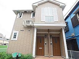 千葉県松戸市常盤平双葉町の賃貸アパートの外観