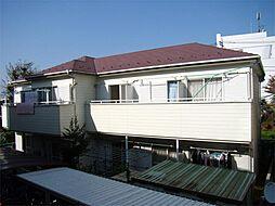 神奈川県川崎市幸区北加瀬3丁目の賃貸アパートの外観