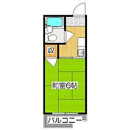 シティハイムOGAKI[102号室]の間取り