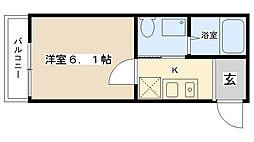 Moca House[301号室]の間取り